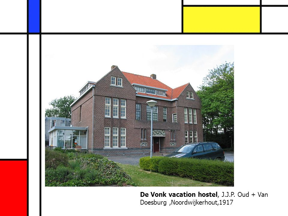 De Vonk vacation hostel, J. J. P