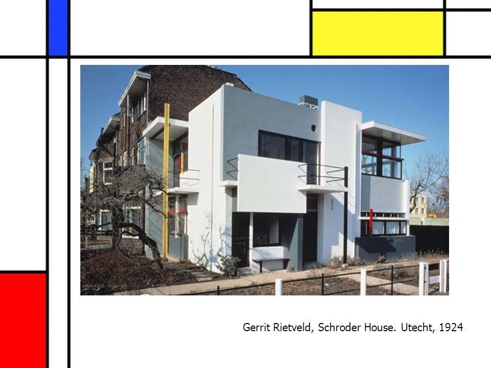 Gerrit Rietveld, Schroder House. Utecht, 1924