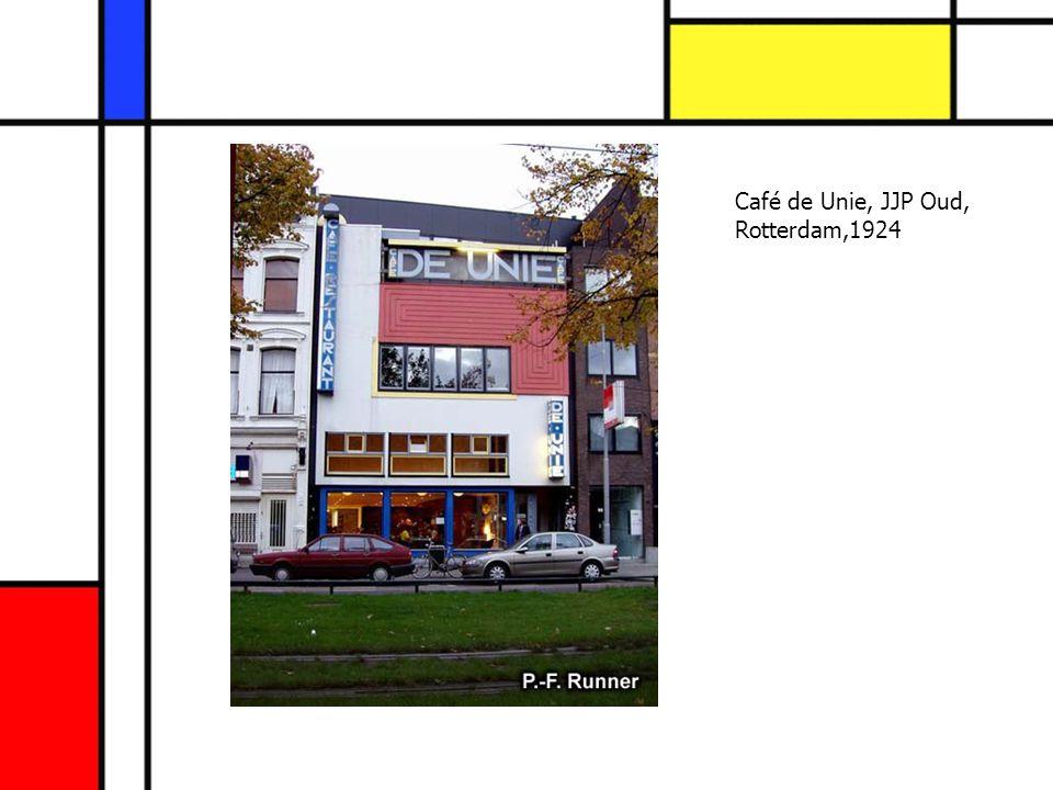 Café de Unie, JJP Oud, Rotterdam,1924
