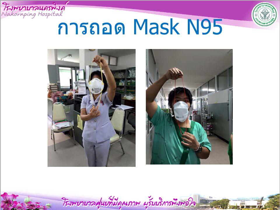 การถอด Mask N95