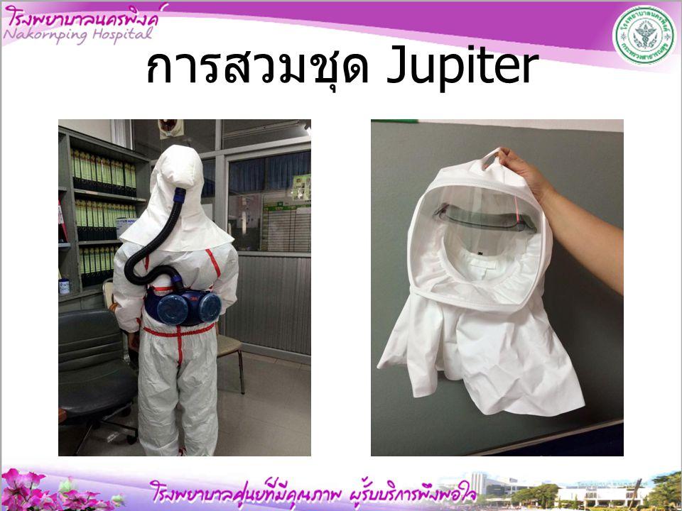 การสวมชุด Jupiter