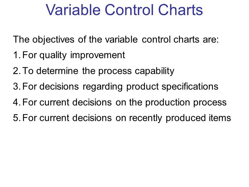 Variable Control Charts