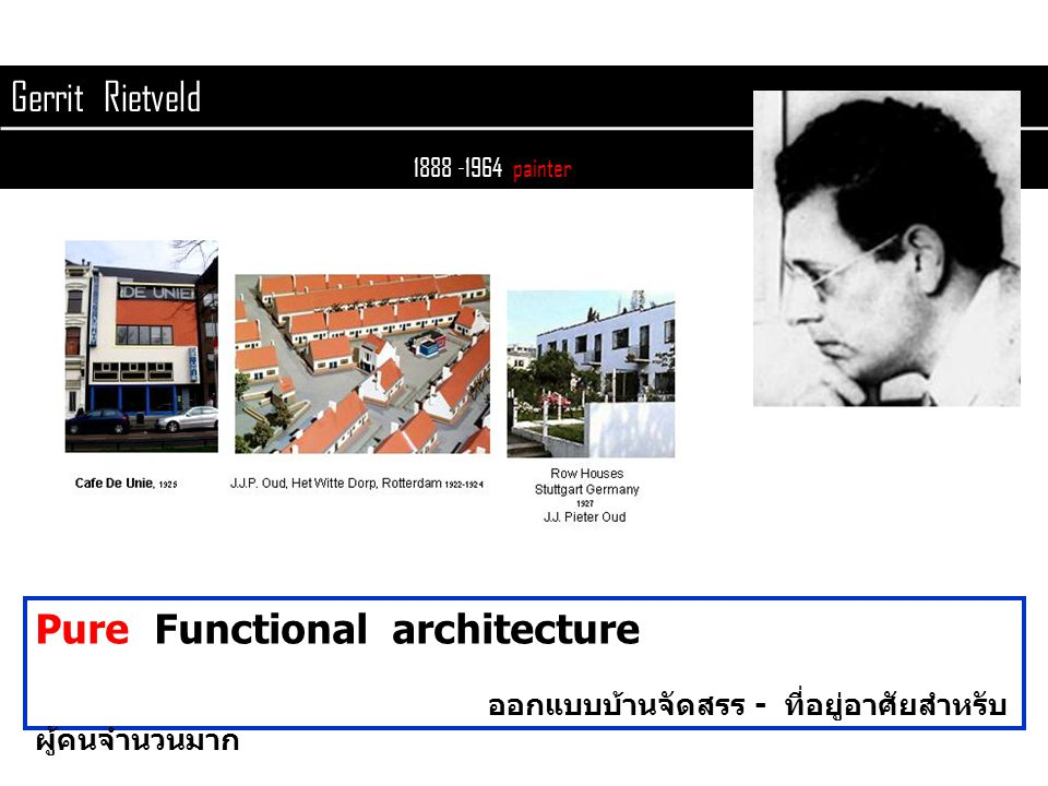 Pure Functional architecture