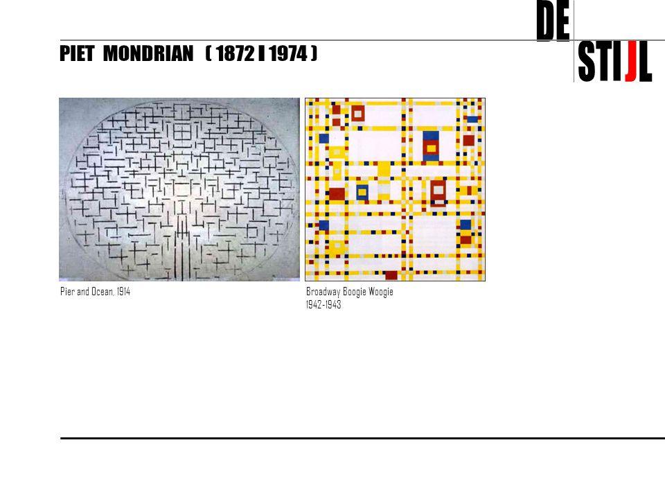 DE STI J L PIET MONDRIAN ( 1872 - 1974 ) Pier and Ocean, 1914
