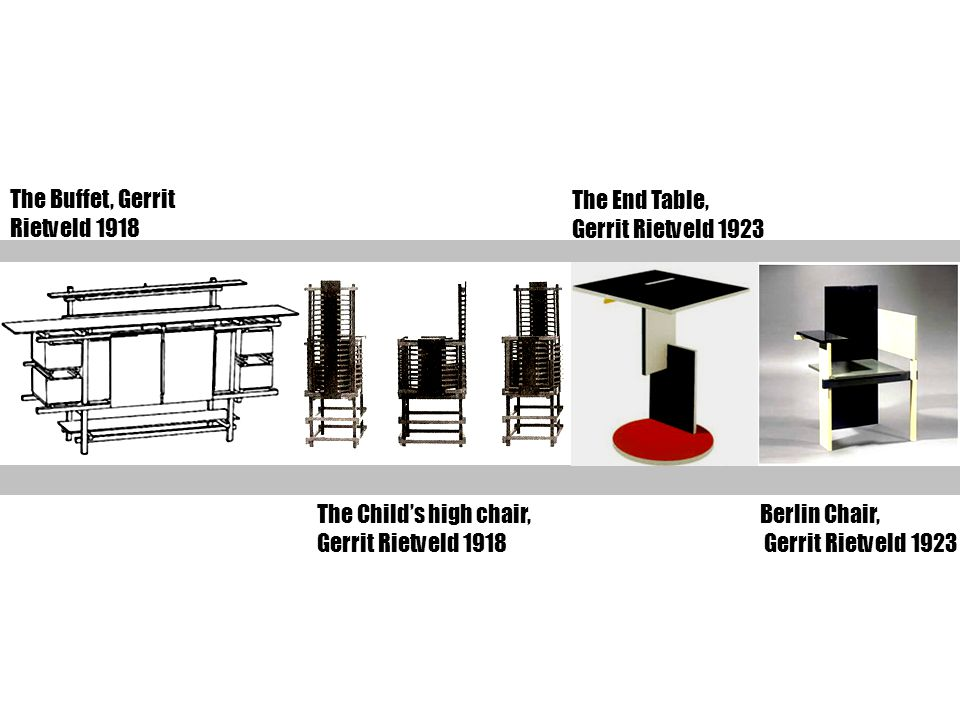 The Buffet, Gerrit Rietveld 1918