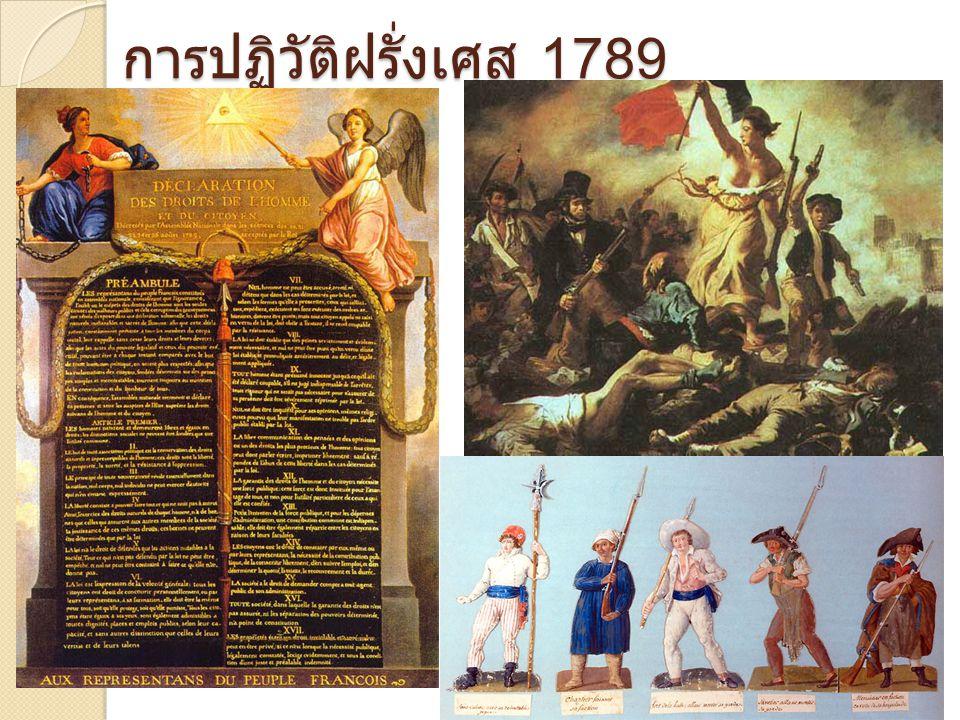 การปฏิวัติฝรั่งเศส 1789