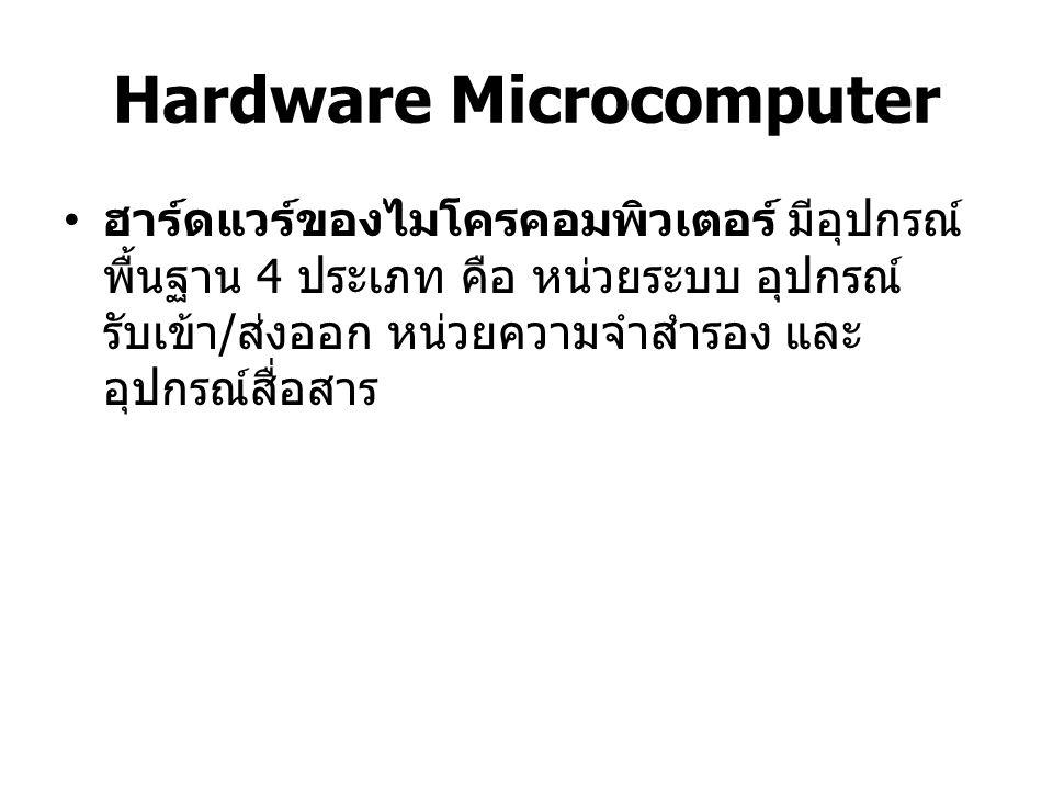 Hardware Microcomputer