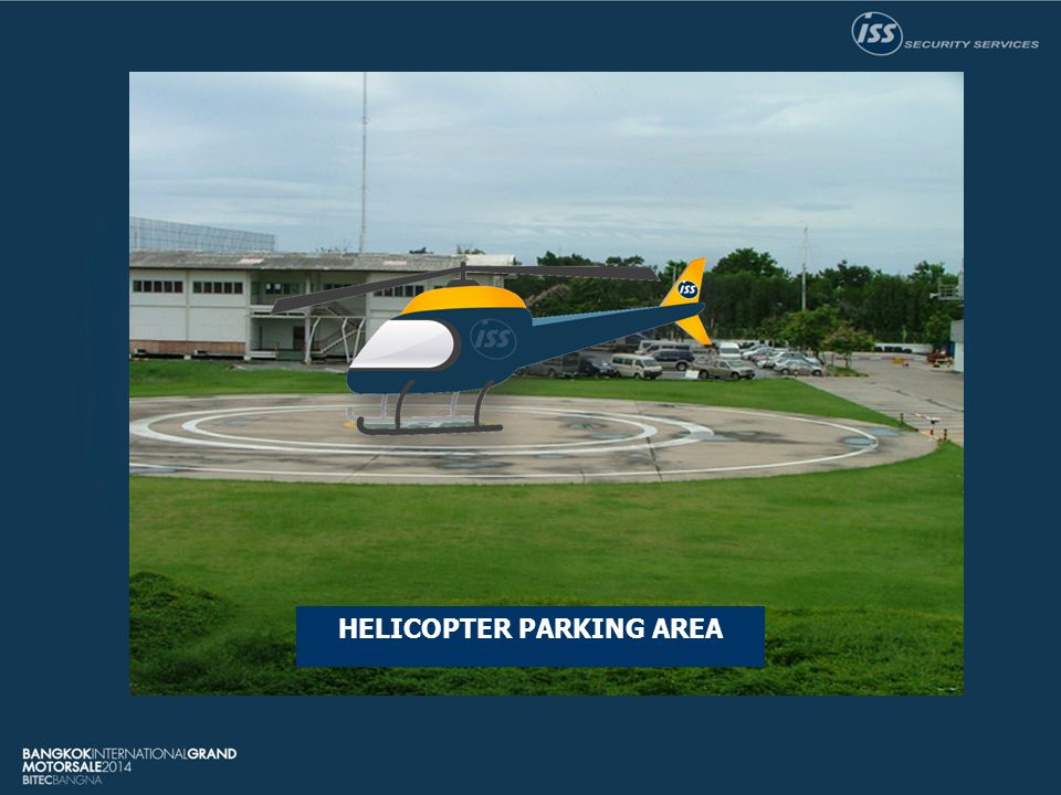 HELICOPTER PARKING AREA