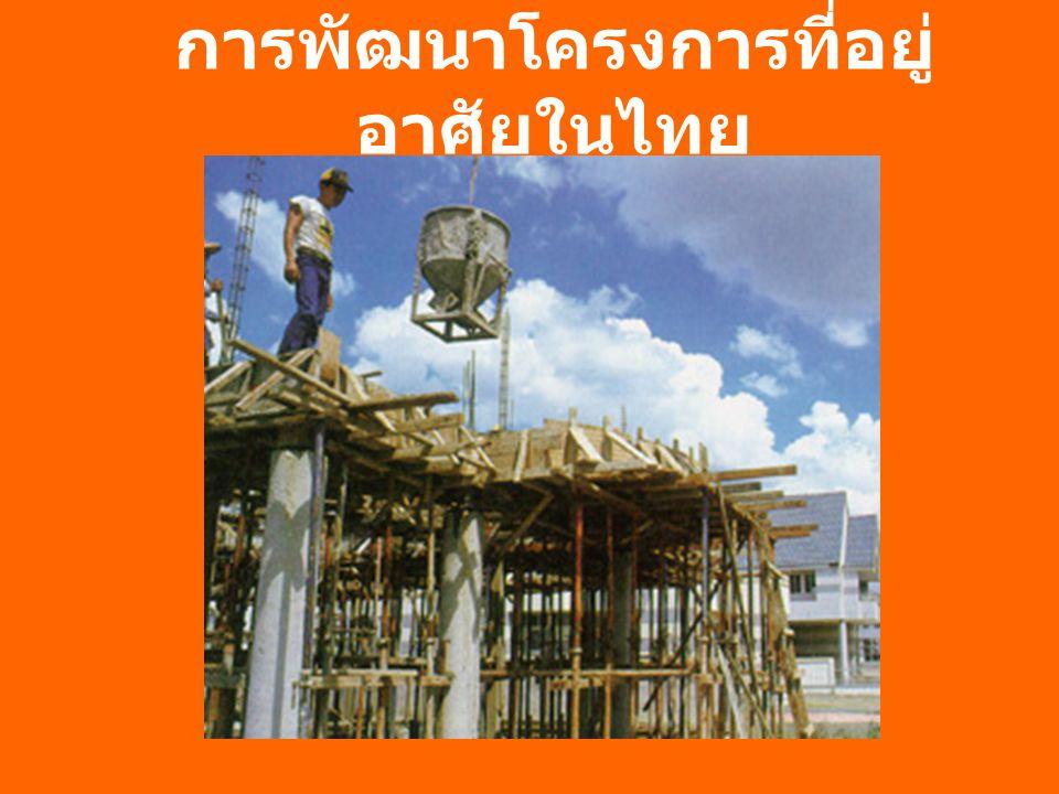 การพัฒนาโครงการที่อยู่อาศัยในไทย