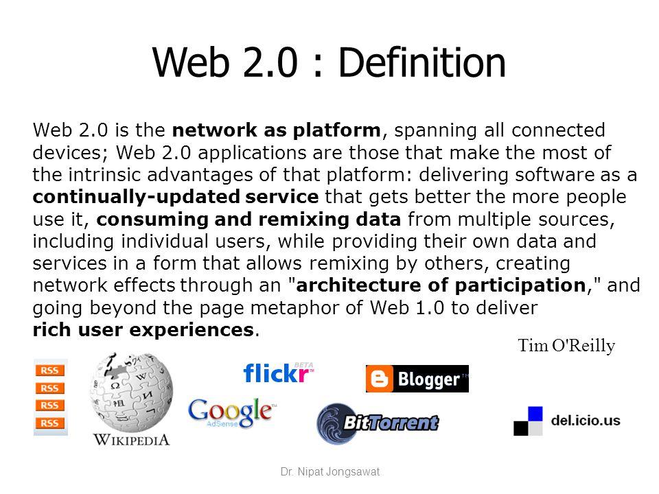 Web 2.0 : Definition