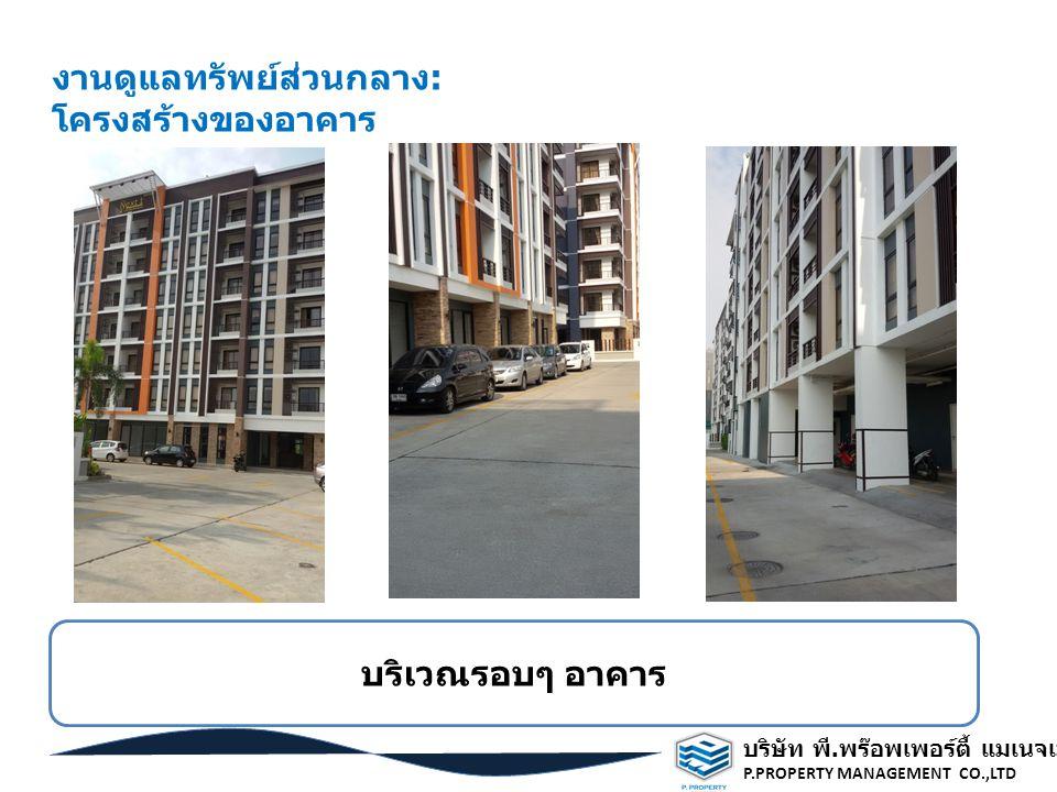งานดูแลทรัพย์ส่วนกลาง: โครงสร้างของอาคาร