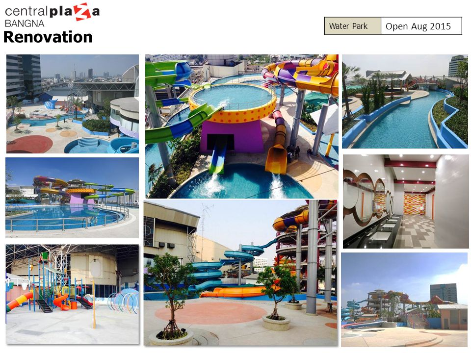 Water Park Open Aug 2015 Renovation