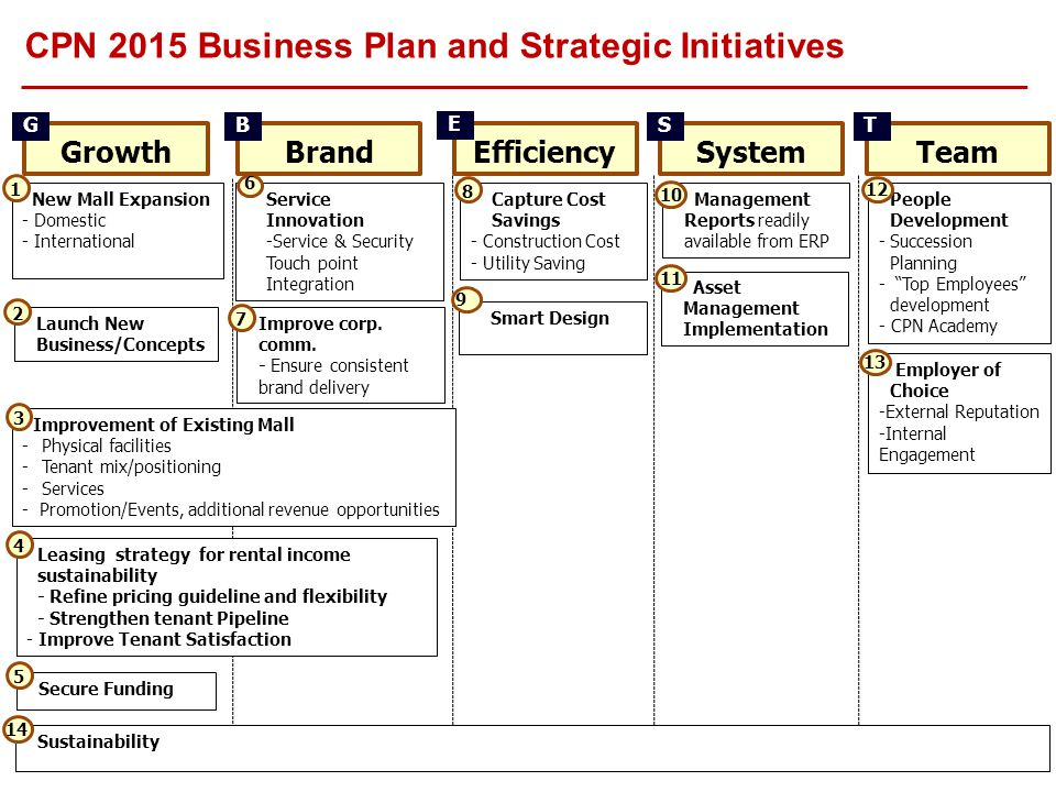CPN 2015 Business Plan and Strategic Initiatives
