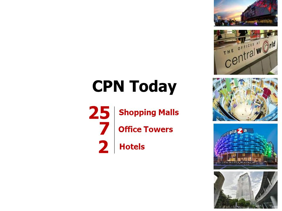 25 7 2 CPN Today Shopping Malls Office Towers Hotels