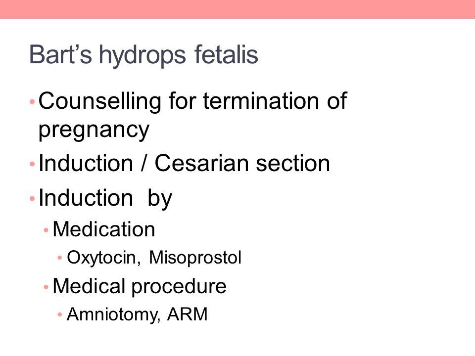 Bart's hydrops fetalis
