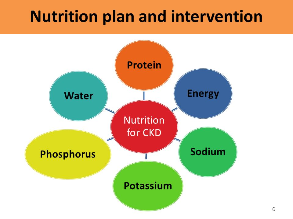 Nutrition plan and intervention