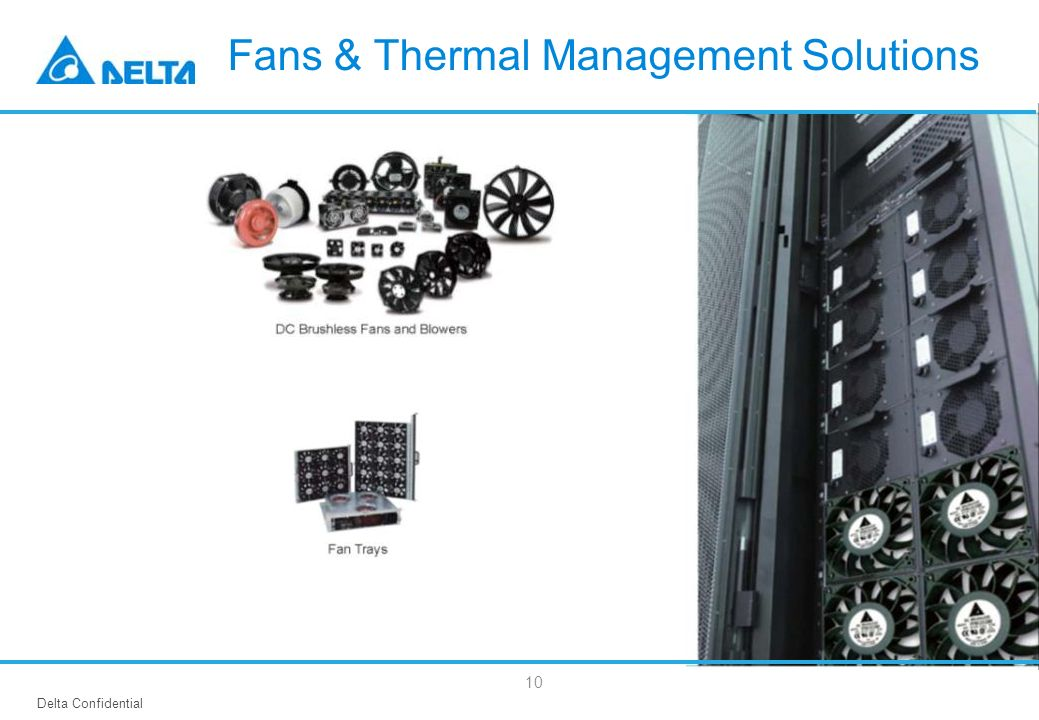 Fans & Thermal Management Solutions