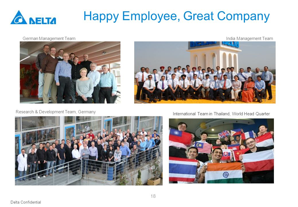 Happy Employee, Great Company