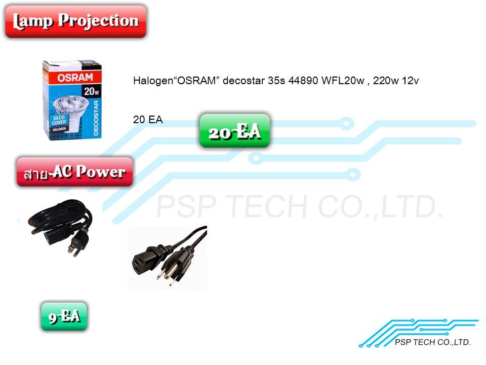 Halogen OSRAM decostar 35s 44890 WFL20w , 220w 12v