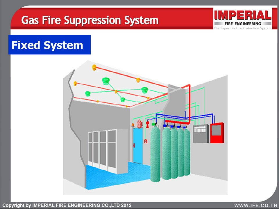 Gas Fire Suppression System