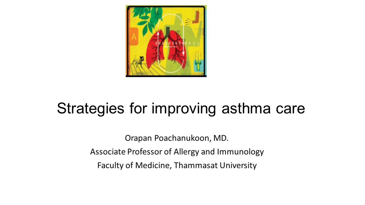 Strategies for improving asthma care