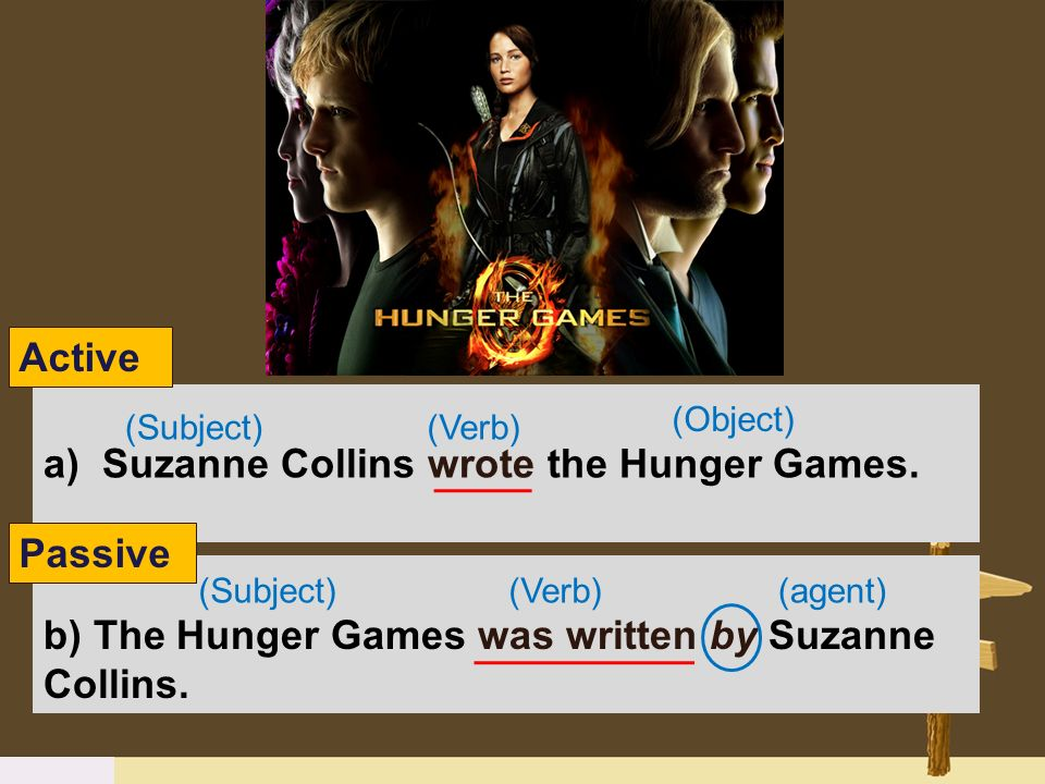 Suzanne Collins wrote the Hunger Games.