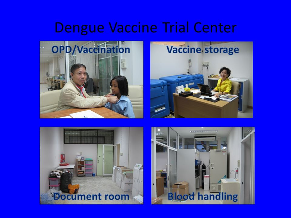 Dengue Vaccine Trial Center