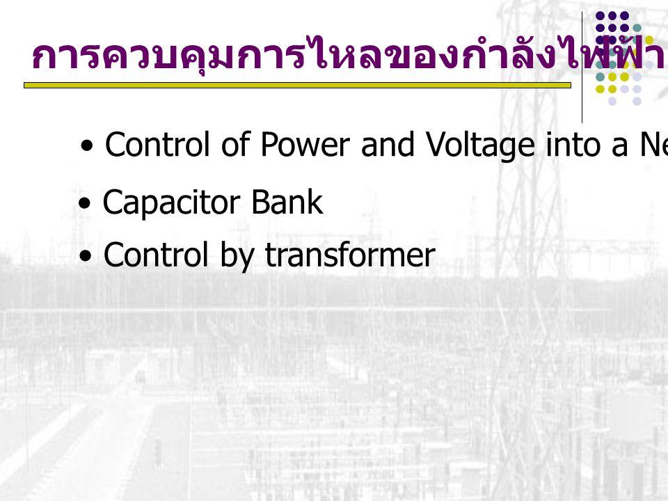 การควบคุมการไหลของกำลังไฟฟ้า
