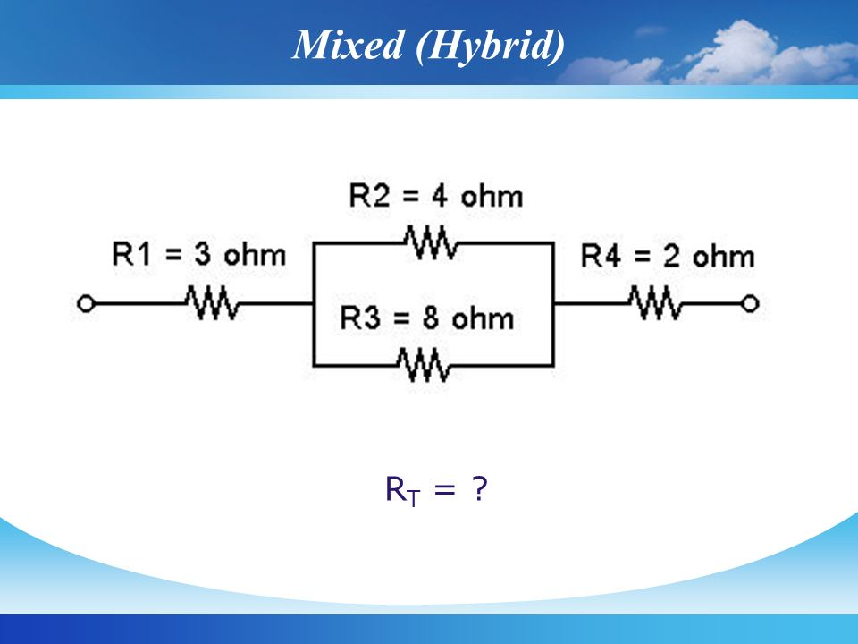 Mixed (Hybrid) RT =