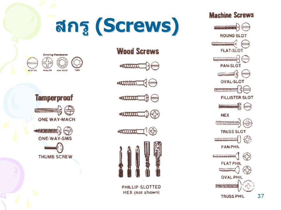สกรู (Screws)