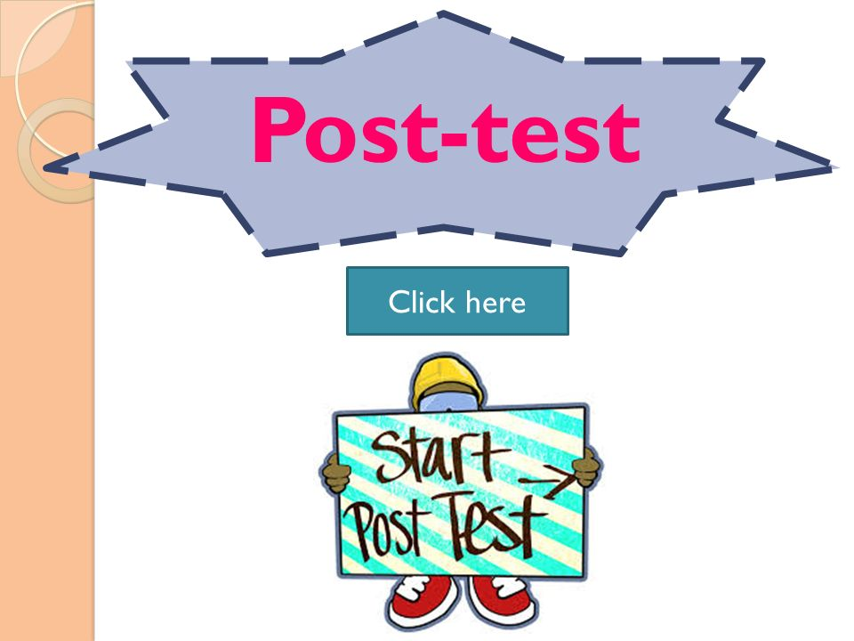 Post-test Click here