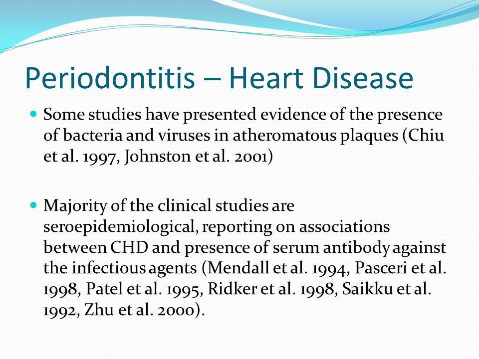 Periodontitis – Heart Disease