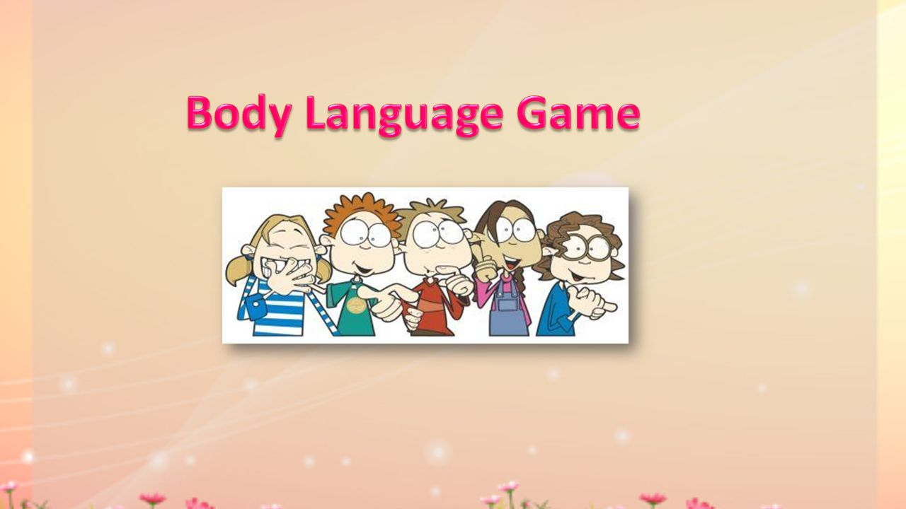 Body Language Game