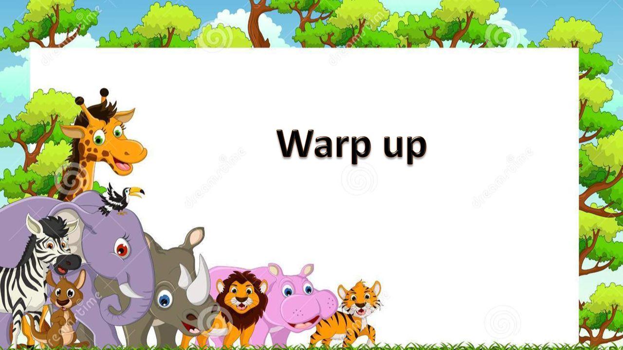 Warp up