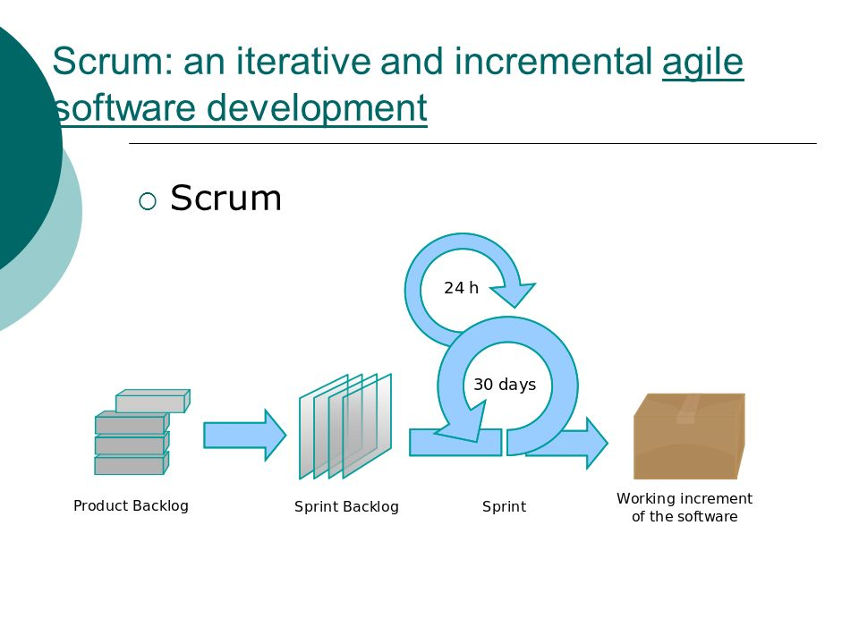 Scrum: an iterative and incremental agile software development