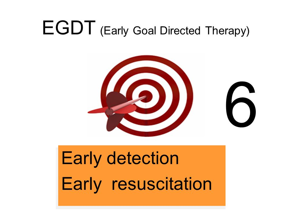 EGDT (Early Goal Directed Therapy)