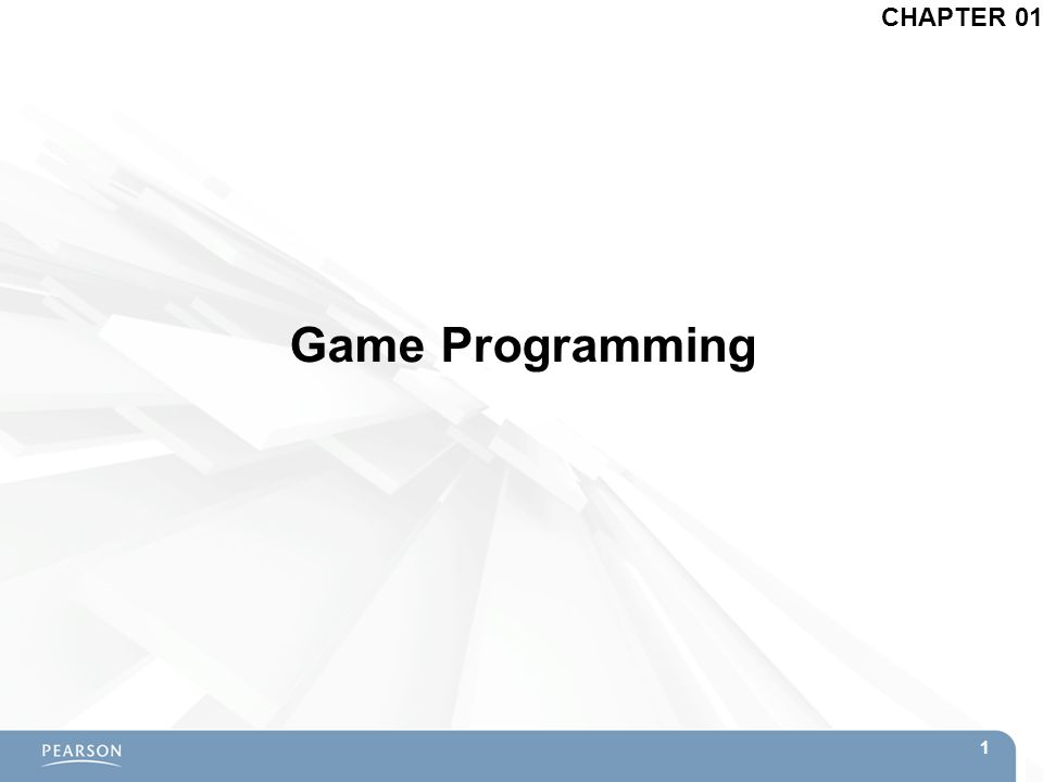CHAPTER 01 Game Programming 1