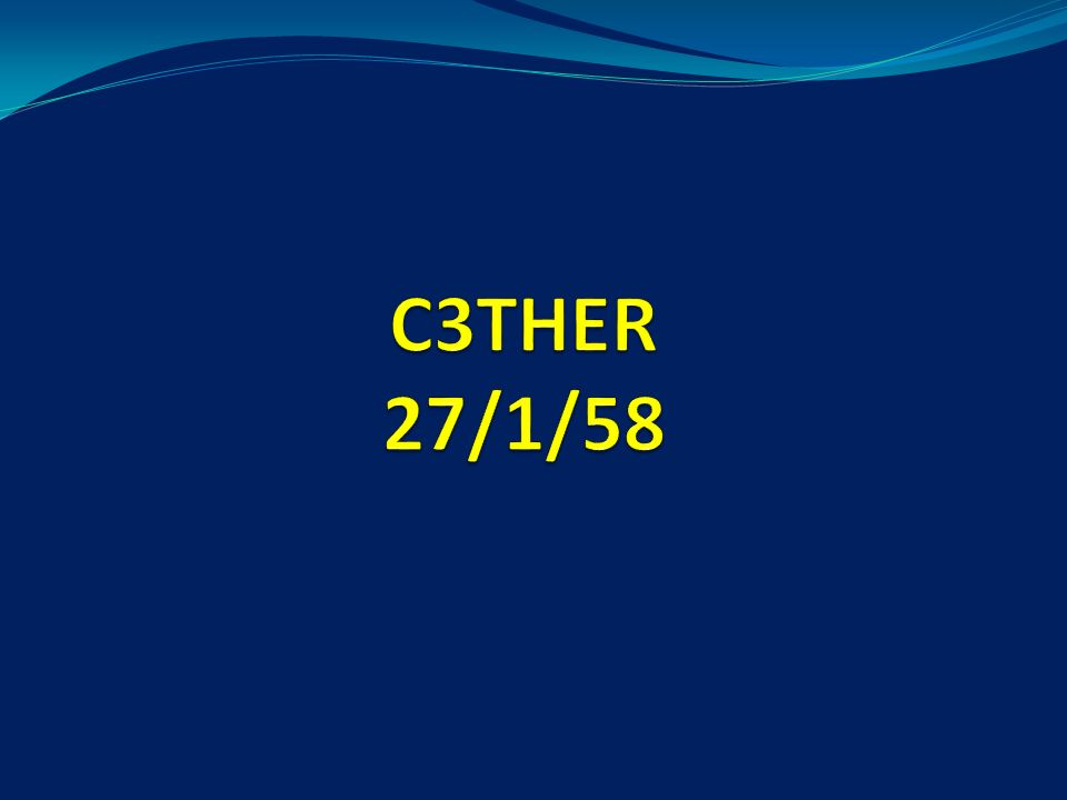 C3THER 27/1/58