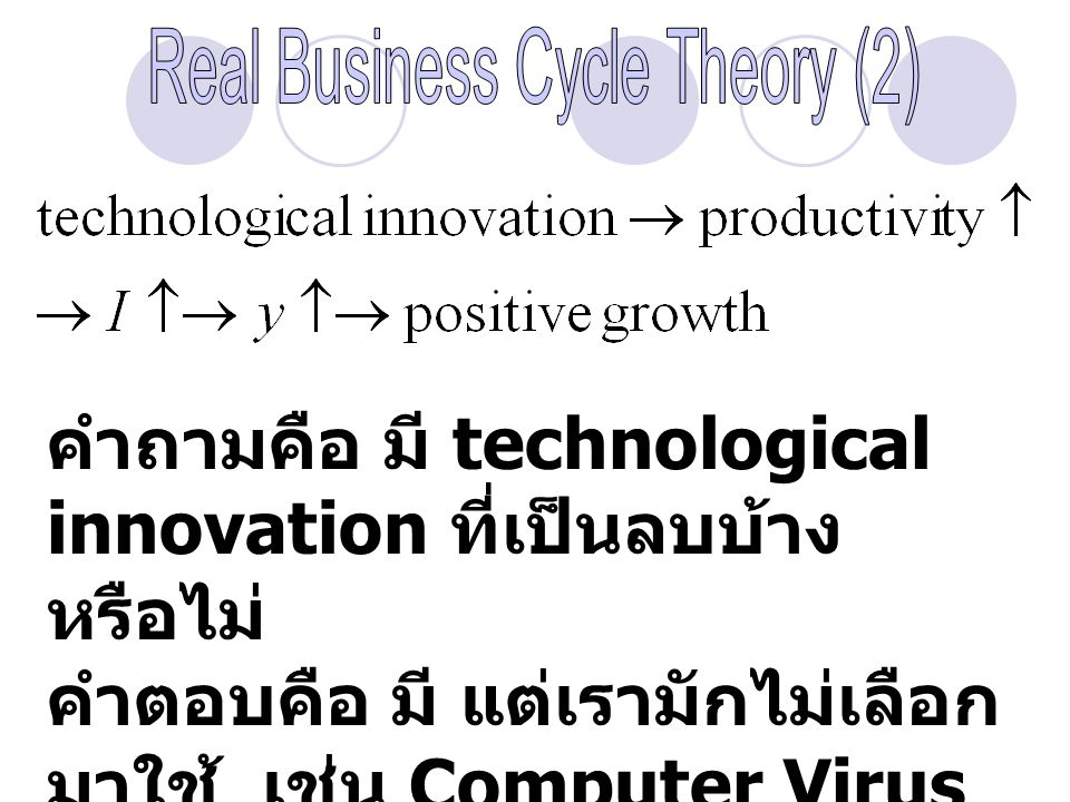 Real Business Cycle Theory (2)