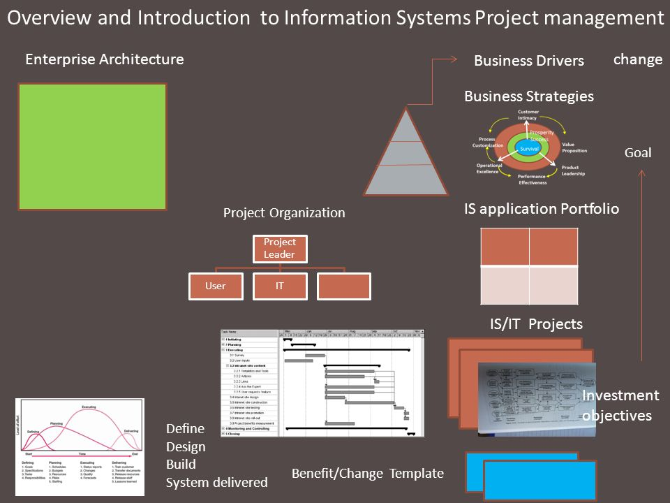Overview and Introduction to Information Systems Project management