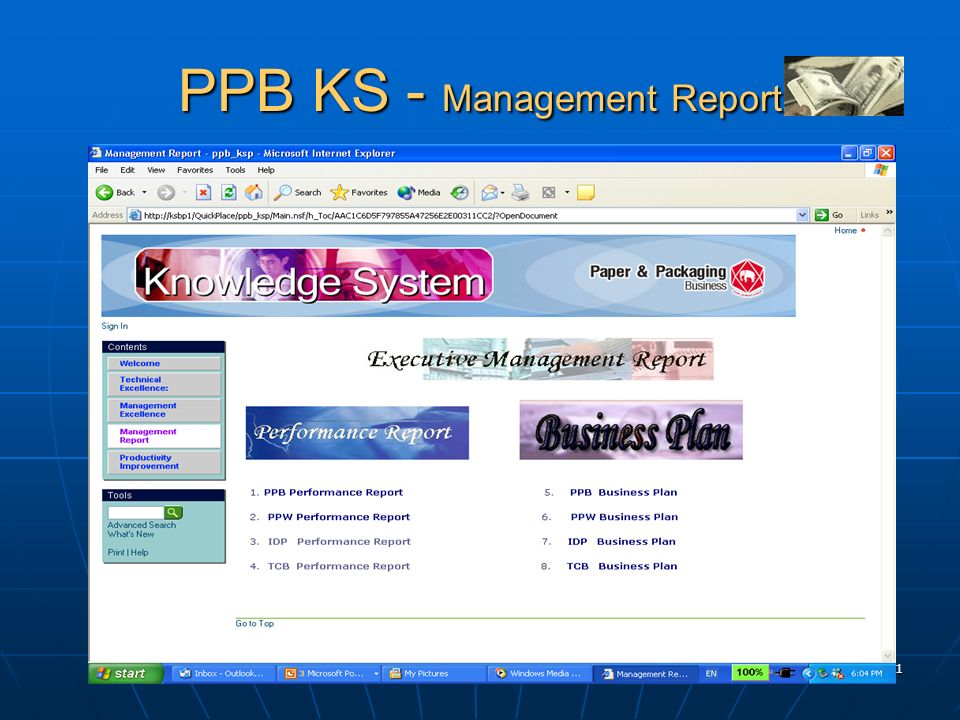 PPB KS - Management Report