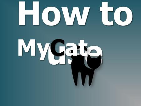 How to use MyCat.