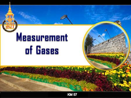 Measurement of Gases KM 57.