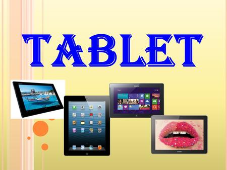 Tablet.