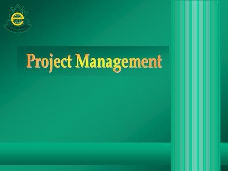Project Management.