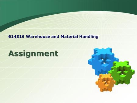 Warehouse and Material Handling