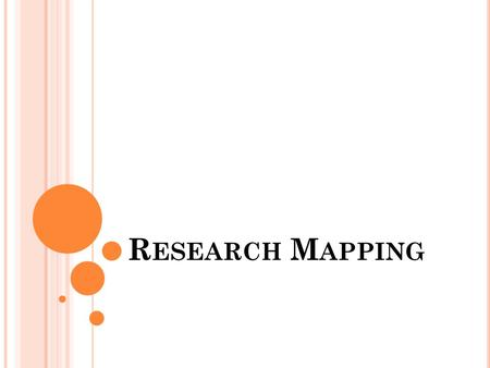 Research Mapping.