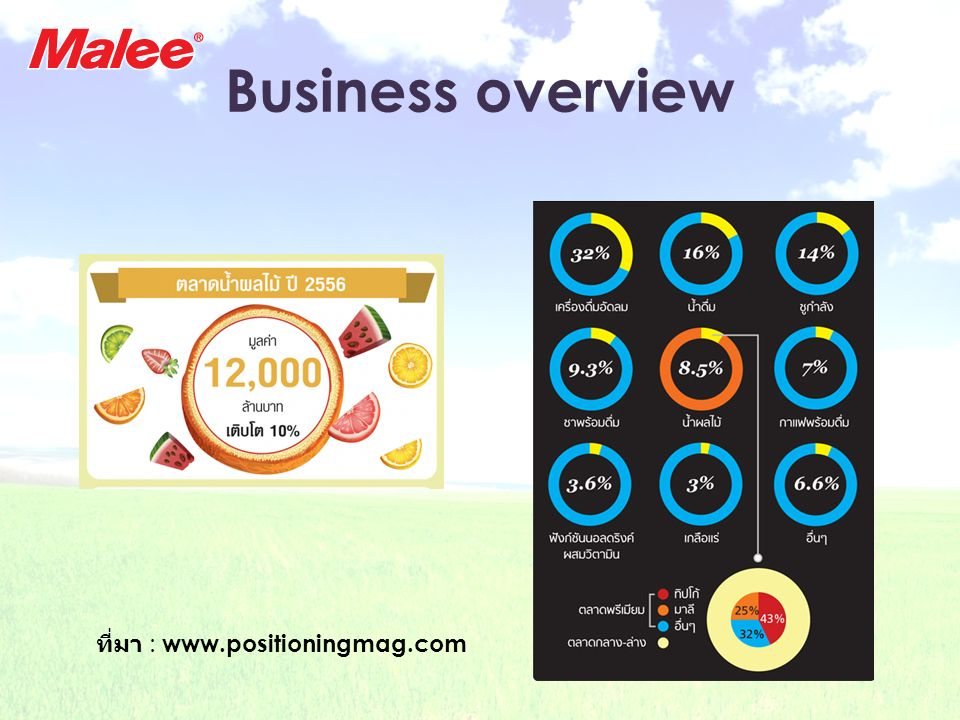 Business overview ที่มา : www.positioningmag.com