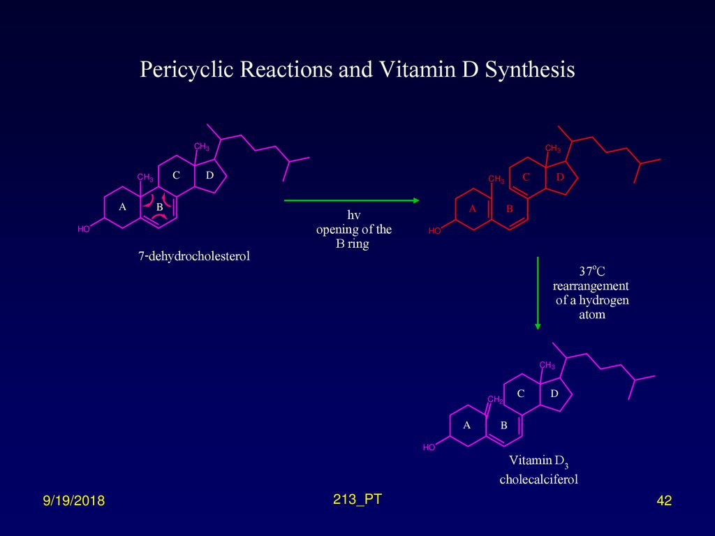 Pericyclic Reactions and Vitamin D Synthesis