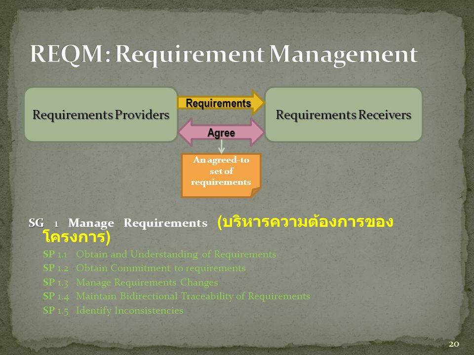 REQM: Requirement Management